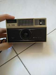 Vintage manual roll flim camera