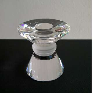 29 Swarovski Silver Crystal - Neo Classical Candle Stand (Small)