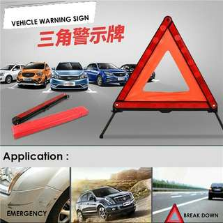 Emergency Warning Triangle, Car Safety Reflector Signs