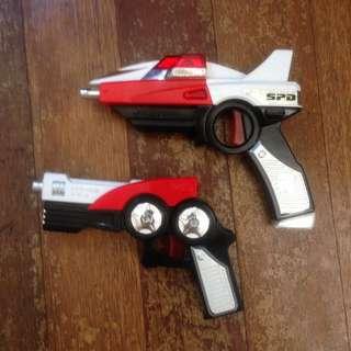 Power Rangers SPD gun