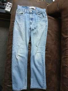 Vintage Levi's 505 Light Blue Jeans 29 X 32