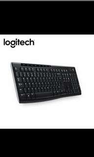 Logitech K270 無線鍵盤
