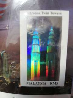 KLCC Hologram stamp