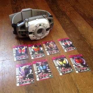 Kamen/Masked Rider Decade belt