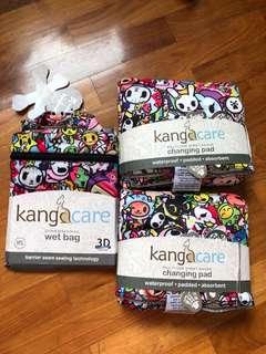 Kangacare Tokidoki tokijoy wetbag and change pad