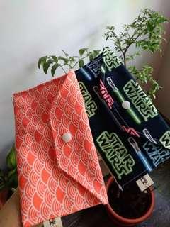 Fabric Envelope (Star Wars & Mermaid scales)