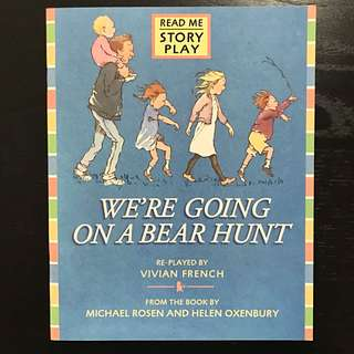 We're Going On a Bear Hunt (story play)
