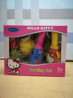 Hello Kitty kids bowling set