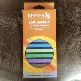 Reeves Soft Pastels Hair Chalk ORIGINAL 100%