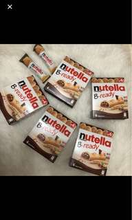 Nutella b ready bar