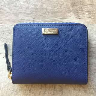 Authentic Navy Blue Kate Spade Wallet