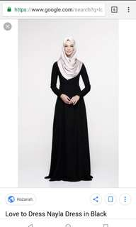 Love to dress/olloum nayla black dress