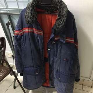 Winter jacket for temperature of -15 degrees celcius