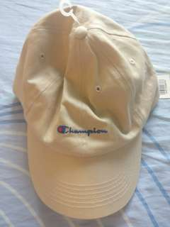 Champion Tan Cotton Cap Hat