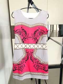 Abstrak dress