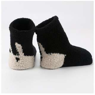 3 Pairs Black (Can Mix) Baby's Winter Sleep Socks
