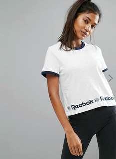 Reebok Starcrest Hem T-shirt White