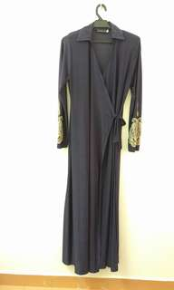 Zuco wrap dress/jubah