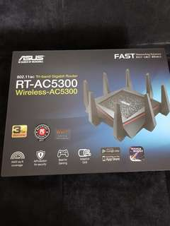 Brand New Asus RT-AC5300 Wireless Triband Router
