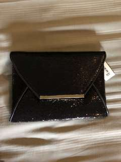 Colette Sequins envelope clutch