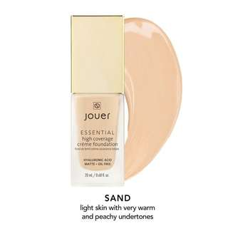 Jouer Essential High Coverage Creme Foundation Sand