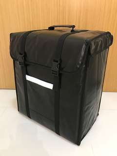 38 litre insulated thermal food delivery bag cooler courier bag
