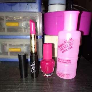 Paket murce(kutex,pembersih,lipstik)