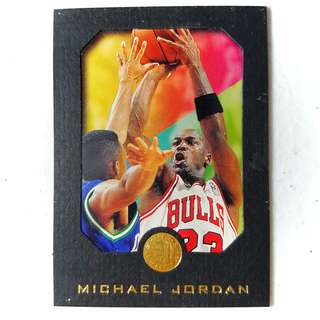 1995 SkyBox Michael Jordan #10 Basketball Card