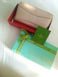 AUTHENTIC dompet kate spade babypink