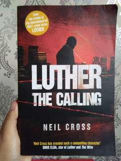 English novel - Luther the calling