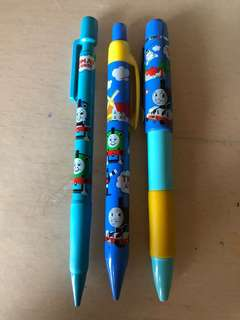 Thomas & Friends 原芯筆 2支+1支3頭筆