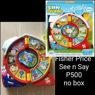 Fisher Price See n Say