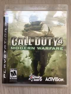 PS3 Call of Duty 4