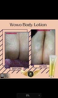 Wowo body lotion
