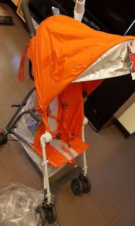 Maclaren Mark2 橘紅色  (歐美最輕量的傘車)