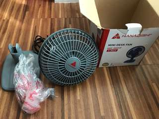 HANABISHI Mini Desk Fan