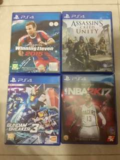 PS4 Games二手