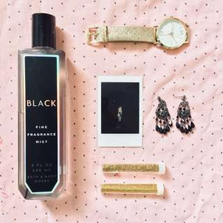 Black Fragrance Mist