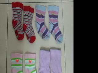 Socks x 4 Pairs