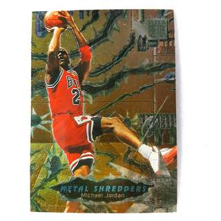 1996-97 Fleer Metal - Michael Jordan - Metal Shredders - #241