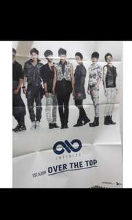 🚚 INFINITE OVER THE TOP 絕版海報