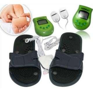 Sunmas Foot Massager Alat Pijat Kejut Listrik Untuk Kaki Dan Badan