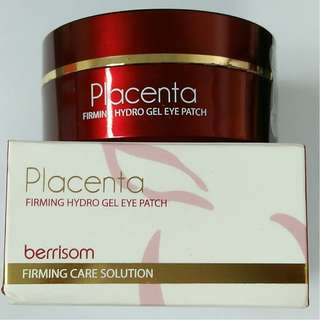BERRISOM Placenta Firming Hydro Gel Eye Patch,