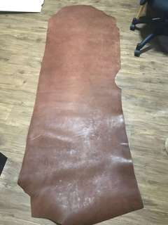 Drum Dyed Veg Tan - Chestnut