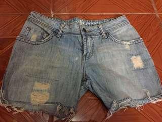 freego tattered shorts
