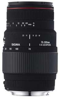 Sigma 70-300mm f/4-5.6 APO DG Macro Autofocus Lens