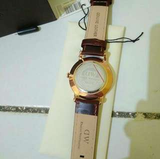 Daniel Wellington DW DAPPER ST MAWES Brown 38MM Gold