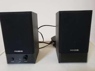 microlab 電腦喇叭