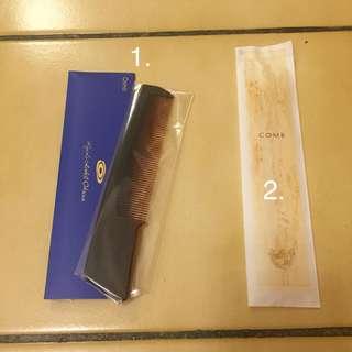 🚚 (日本帶回)飯店 平口梳 梳子