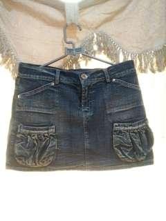 Rok span jeans